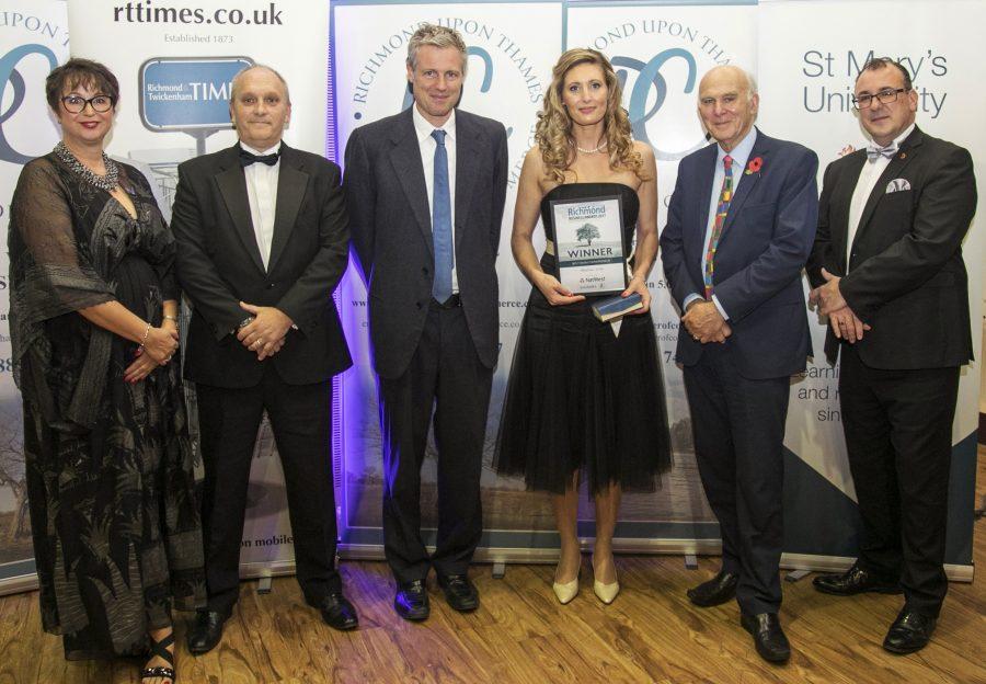 Richmond Business Awards Winner, Entrepreneur of the year
